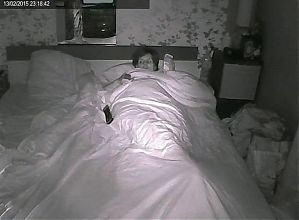 Laptop Cam - Bed Time
