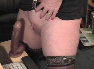Large and Huge White Pierced Exercised MILF Clit Hood