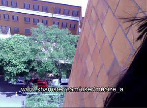 balkony webcam show