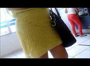 Gostosa de vestido transparente