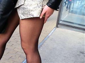 perfect pantyhose legs