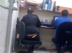 Sdruws2 - panty thong at work