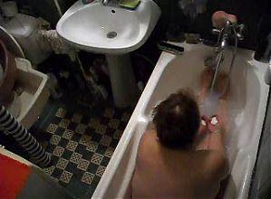 my wife takes a long bath ...