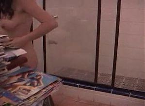 Kattia Clean Naked the House Costa Rica Girl